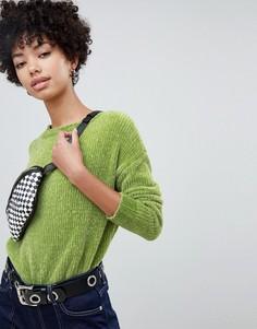 Джемпер Pepe Jeans chenielle - Зеленый