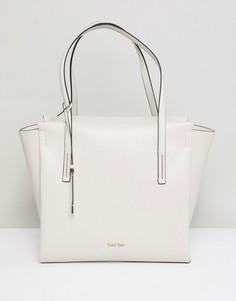 Большая сумка для покупок с каркасом Calvin Klein - Серый
