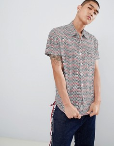 Рубашка с короткими рукавами и 1 карманом Levis Sunset Cloud Dancer - Синий