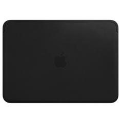 "Кейс для MacBook Apple 12"" Macbook Leather Black (MTEG2ZM/A)"
