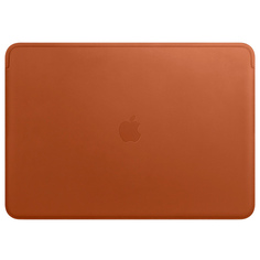 "Кейс для MacBook Apple 15"" Macbook Pro Leather Saddle Brown (MRQV2ZM/A)"