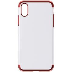 Чехол InterStep DECOR ADV iPhone XR красный