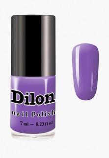 Лак для ногтей Dilon тон 2815, фиолетовый, 7 мл