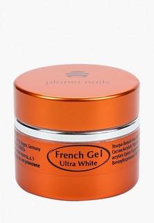 Гель-лак для ногтей Planet Nails Ultra White French Gel ультра-белый густой вязкости, 5 г