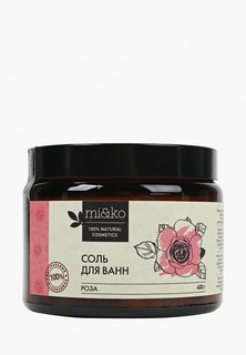 Соль для ванн MiKo Роза, 400 г