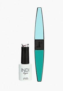 Набор для ухода за ногтями Runail Professional пилка для ногтей и Гель-лак INDI laque, 9 мл №3461