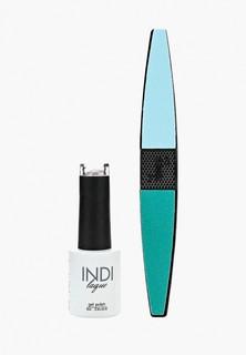 Набор для ухода за ногтями Runail Professional пилка для ногтей и Гель-лак INDI laque, 9 мл №3688