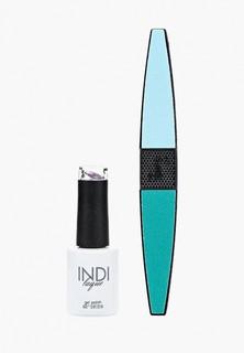 Набор для ухода за ногтями Runail Professional пилка для ногтей и Гель-лак INDI laque, 9 мл №3549