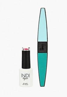 Набор для ухода за ногтями Runail Professional пилка для ногтей и Гель-лак INDI laque, 9 мл №3485