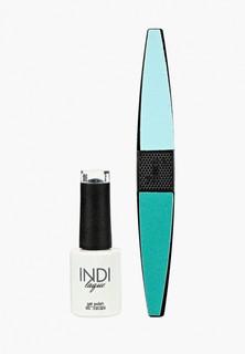 Набор для ухода за ногтями Runail Professional пилка для ногтей и Гель-лак INDI laque, 9 мл №3667