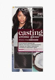 Краска для волос LOreal Paris LOreal Casting Creme Gloss, 200 Черный Кофе