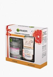 """Набор для ухода за лицом Garnier BB Крем """"Секрет совершенства"""", SPF 15, светло-бежевый, 50 мл + Мицеллярная вода для всех типов кожи, 125 мл"""
