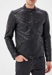 Куртка кожаная Superdry