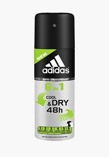 Дезодорант adidas Anti-perspirant Spray Male, 150 мл 6 in 1 Anti-perspirant Spray Male, 150 мл 6 in 1