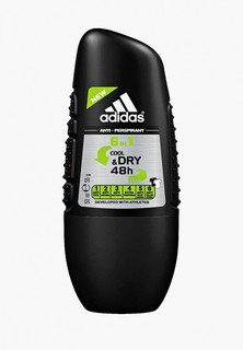Дезодорант adidas Anti-perspirant Roll-ons Male, 50 мл 6 in 1