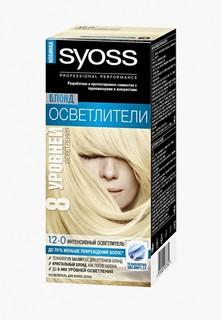 Краска для волос Syoss Oleo Intense 12-0 Платиновый блонд экстра 122,5 мл + 10 г