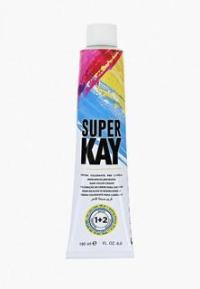 Краска для волос KayPro 5.66 SUPER KAY ИНТЕНСИВНЫЙ СВЕТЛЫЙ КРАСНОВАТО-КОРИЧНЕВЫЙ 180 МЛ.