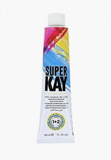 Краска для волос KayPro SUPER KAY ЭКСТРА ИНТЕНСИВНЫЙ СВЕТЛЫЙ КРАСНОВАТО-КОРИЧНЕВЫЙ 180 МЛ.