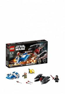 Конструктор Star Wars Lego Истребитель типа A против бесшумного истребителя СИД 75196