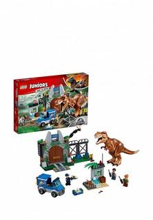 Конструктор Jurassic World Lego Побег Ти-Рекса 10758