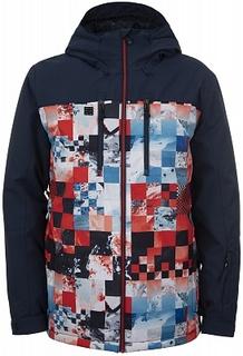 Куртка утепленная мужская Quiksilver Mission Blck, размер 50-52