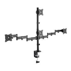 """Кронштейн для мониторов Arm Media LCD-T16 черный 15""""-32"""" макс.40кг настольный поворот и наклон верт."""