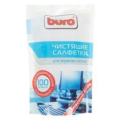 Влажные салфетки BURO BU-Zscreen