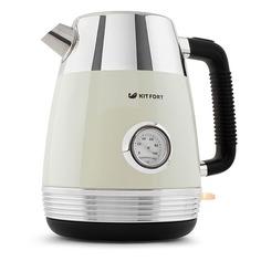 Чайник электрический KITFORT КТ-633-3, 2150Вт, бежевый