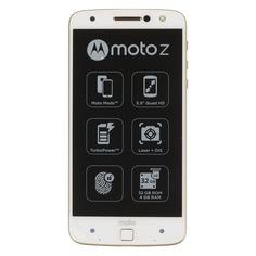 Смартфон MOTOROLA MOTO Z 32Gb, белый/золотистый