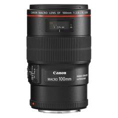Объектив CANON 100mm f/2.8L EF IS USM, Canon EF, черный [3554b005]