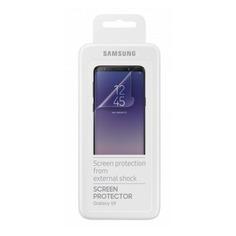 Защитная пленка для экрана SAMSUNG ET-FG960CTEGRU для Samsung Galaxy S9, прозрачная, 2 шт