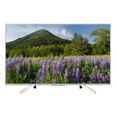 """LED телевизор SONY KD55XF7077SR2 54.6"""", Ultra HD 4K (2160p), черный/ серебристый"""