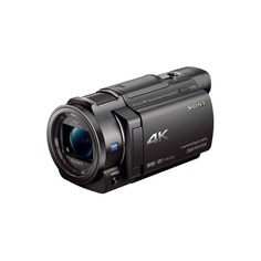 Видеокамера SONY FDR-AX33, черный, Flash [fdrax33b.cel]