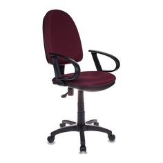 Кресло БЮРОКРАТ CH-300, на колесиках, ткань, бордовый [ch-300/cherry]