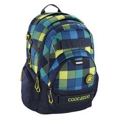 Рюкзак Coocazoo CarryLarry2 Lime District синий/салатовый