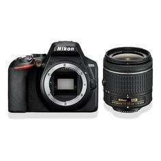 Зеркальный фотоаппарат NIKON D3500 kit ( 18-55mm non VR AF-P), черный