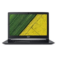 "Ноутбук ACER Aspire A717-72G-7469, 17.3"", Intel Core i7 8750H 2.2ГГц, 8Гб, 1000Гб, nVidia GeForce GTX 1060 - 6144 Мб, Windows 10, NH.GXEER.007, черный"