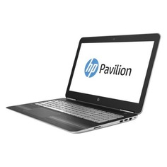 "Ноутбук HP Pavilion 15-bc016ur, 15.6"", Intel Core i7 6700HQ 2.6ГГц, 8Гб, 1000Гб, nVidia GeForce GTX 950M - 2048 Мб, Windows 10, 1BW68EA, серебристый"