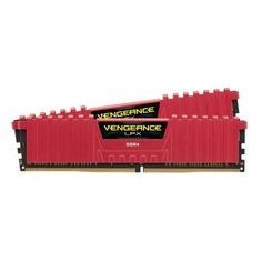 Модуль памяти CORSAIR Vengeance LPX CMK16GX4M2A2400C16R DDR4 - 2x 8Гб 2400, DIMM, Ret