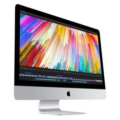"""Моноблок APPLE iMac MNED2RU/A, 27"""", Intel Core i5 7600K, 8Гб, 2Тб, AMD Radeon Pro 580 - 8192 Мб, Mac OS, серебристый и черный"""