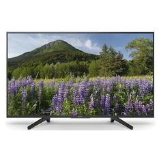 """Телевизор LED Sony 43"""" KD43XF7005BR черный/черный/Ultra HD/200Hz/DVB-T/DVB-T2/USB/WiFi/Smart TV"""