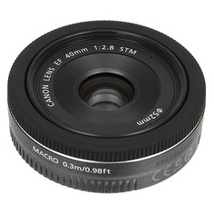 Объектив CANON 40mm f/2.8 EF STM, Canon EF [6310b005]