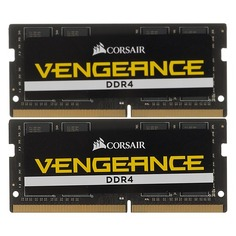 Модуль памяти CORSAIR Vengeance CMSX32GX4M2A2666C18 DDR4 - 2x 16Гб 2666, SO-DIMM, Ret