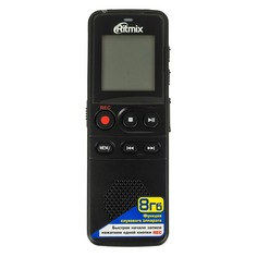 Диктофон RITMIX RR-810 8 Gb, черный [15118209]