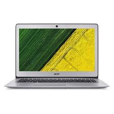 "Ультрабук ACER Swift 3 SF314-52G-87DE, 14"", Intel Core i7 8550U 1.8ГГц, 8Гб, 256Гб SSD, nVidia GeForce Mx150 - 2048 Мб, Linux, NX.GQUER.003, серебристый"