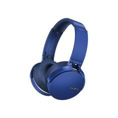 Наушники SONY MDR-XB950B1, накладные, синий, беспроводные bluetooth