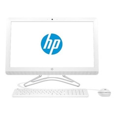 "Моноблок HP 200 G3, 21.5"", Intel Core i3 8130U, 4Гб, 256Гб SSD, Intel UHD Graphics 620, DVD-RW, Windows 10 Home, белый [3zd35ea]"