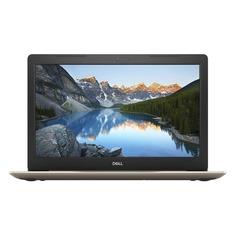 "Ноутбук DELL Inspiron 5570, 15.6"", Intel Core i5 8250U 1.6ГГц, 4Гб, 1000Гб, AMD Radeon 530 - 2048 Мб, DVD-RW, Windows 10 Home, 5570-7871, золотистый"