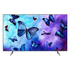 "QLED-телевизор SAMSUNG QE75Q6FNAUXRU ""R"", 75"", Ultra HD 4K (2160p), серебристый"
