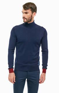 Водолазка синего цвета Trussardi Jeans